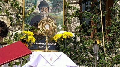 Adorazione Eucaristica e la preghiera di guarigione per intercessione di S.Charbel alle ore 20.30-24.07.2021