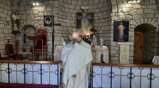 Zakończenie Adoracji Eucharystycznej,godz.18.30-Conclusione di Adorazione,ore-Florencja 28.08.2021