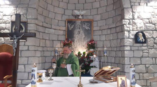 La Santa Messa in diretta,ore 19.00.-Florencja 30.08.2021