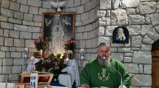 Transmisja Mszy Świętej,godz.20.00-Florencja 1.09.2021