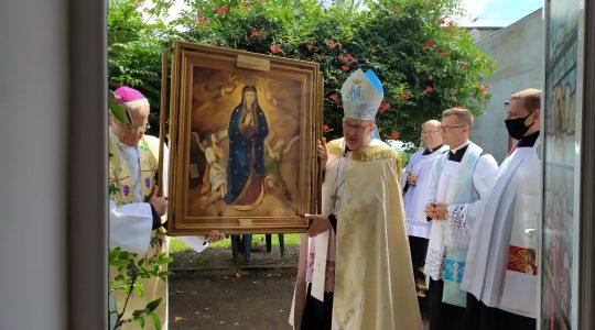 PROGRAM transmisji CharbelTV i Mszy św. od piątku do niedzieli w związku z peregrynacją obrazu Matki Bożej Wniebowziętej Dobrego Początku(22-24.10.2021)