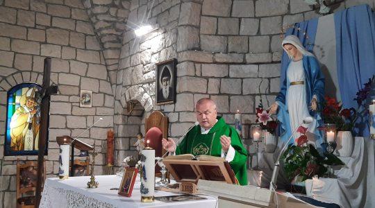 Transmisja Mszy Świętej, godz. 20.00-XVIII Niedziela Zwykła,Florencja 1.08.2021