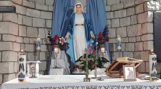 Transmisja Mszy Świętej,godz.20.00-Florencja 02.08.2021