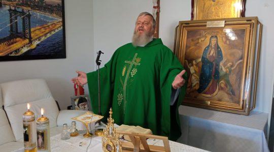 La Santa Messa in diretta alle ore 10.00-Italia 02.08.2021