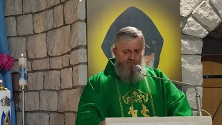 Transmisja Mszy Świętej, godz. 11.00-XXII Niedziela Zwykła,Florencja 29.08.2021