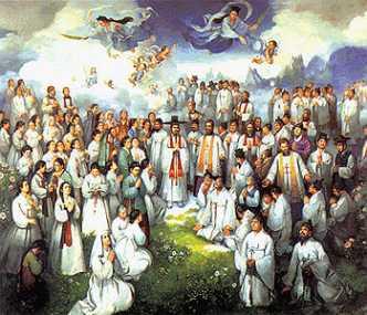 Święci męczennicy Andrzej Kim Tae-gŏn, prezbiter, Paweł Chŏng Ha-sang i Towarzysze 20.09.2021