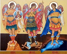 Święci Archaniołowie Michał, Rafał i Gabriel (29.09.2021)