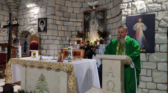 Transmisja Mszy Świętej,godz. 20.00-Florencja 10.09.2021