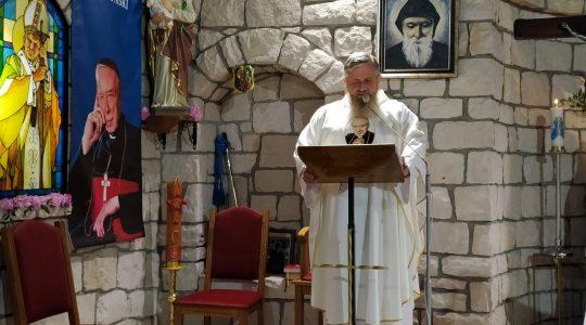 Transmisja Mszy Świętej, godz.20.00-Florencja 13.09.2021