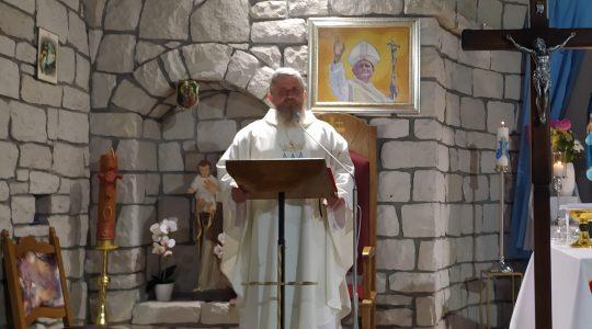 Transmisja Mszy Świętej,godz. 20.00- Najświętszej Maryi Panny Bolesnej-Florencja 15.09.2021