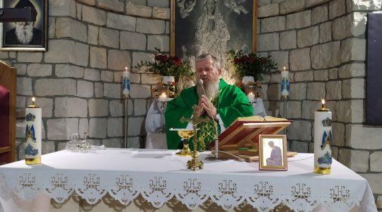 Transmisja Mszy Świętej, godz. 20.00-Florencja 17.09.2021