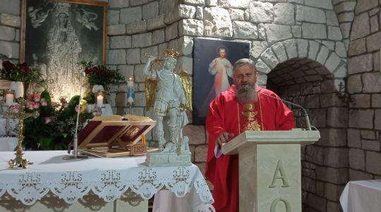 Transmisja Mszy Świętej,godz.20.00-Św. Mateusz, Apostoł i Ewangelista,Florencja 21.09.2021