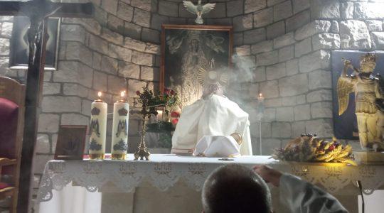 Zły duch chciał zakłócić comiesięczne nabożeństwo o uzdrowienie i uwolnienie 23.09.2021
