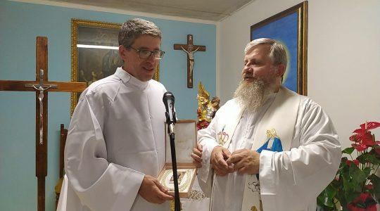 Nicola pragnie być kapłanem 30.09.2021