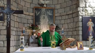Transmisja Mszy Świętej, godz. 20.00-XXV Niedziedziela Zwykła,Florencja 19.00.2021