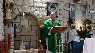 La Santa Messa in diretta alle ore 19.00.Florencja 11.09.2021