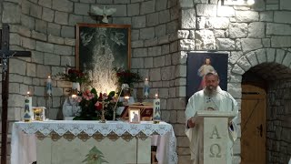 Transmisja Mszy Świętej,godz.18.00-Florencja 22.09.2021
