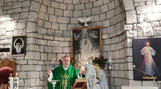 Transmisja Mszy Świętej,godz.19.30-Florencja 11.10.2021