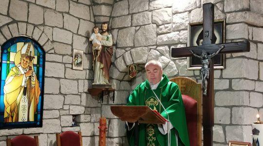 Transmisja Mszy Świętej,godz.11.00-XXVII Niedziela Zwykła-3.10.2021