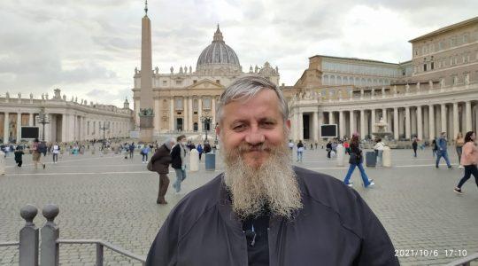 Refleksja ks. Jarka z Placu św. Piotra 7.10.2021