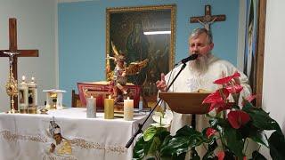 Transmisja Mszy Świętej,godz.14.00-Kaplica św. Antoniego,Rossano Veneto 1.10.2021