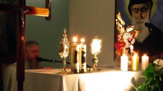 Koronka do Bożego Miłosierdzia,godz.15.00-Coroncina della Divina Misericordia-Cappella S.Antonio,Rossano Veneto (1.10.2021)