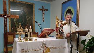 La Santa Messa in diretta ore 18.30-Cappella di San Antinio,Rossano Veneto 1.10.2021