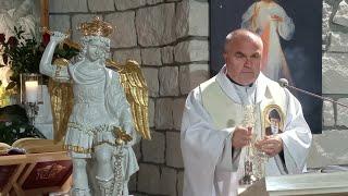 Transmisja Mszy Świętej,godz.19.30-Świętej Faustyny Kowalskiej,Florencja 5.10.2021