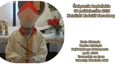 Msza święta święceń kapłańskich sobota 09.10.2021 r. godz.12.00-La Santa Messa ore 12.00,ordinazione sacerdotale in Polonia a Milicz (CCN)
