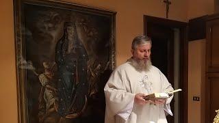La Santa Messa in diretta alle ore 18.30-11.10.2021