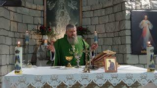 Transmisja Mszy Świętej,godz.19.30-Florencja 13.10.2021