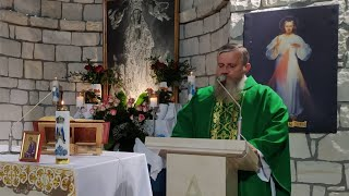 Transmisja Mszy Świętej,godz.19.30-Florencja 14.10.2021