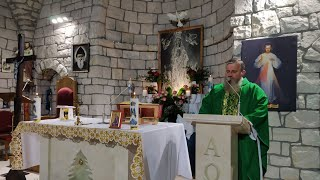 Transmisja Mszy Świętej,godz.19.30-XXIX Niedziela Zwykła,Florencja 17.10.2021
