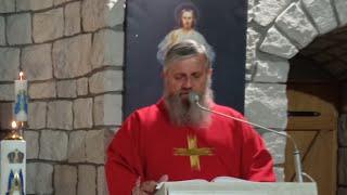 La Santa Messa ore 18.30-Florencja 18.10.2021