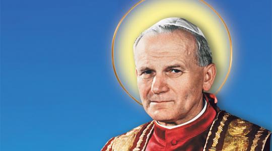 Święty Jan Paweł II, papież (22.10.2021)