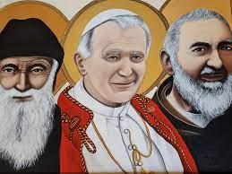 Dzień ze św. Janem Pawłem II i św. Charbelem 22.10.2021