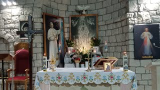 Transmisja Mszy Świętej,godz.19.30-XXX Niedziela Zwykła ,Florencja 24.10.2021