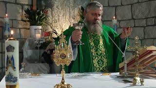 La Santa Messa ore 18.30-Varsavia 25.10.2021